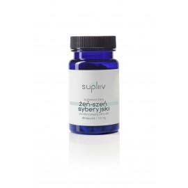SUPLIIV Żeń-szeń syberyjski standaryzowany ekstrakt 40 kapsułek